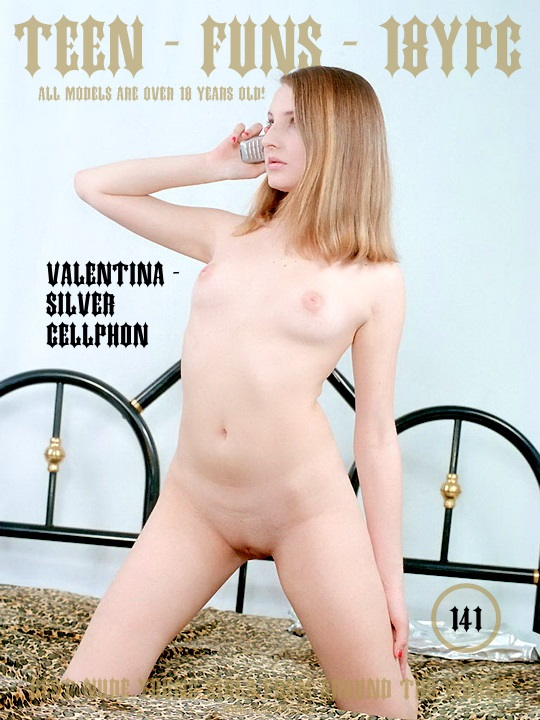 Valentina - Silver CellPhon - TeenFuns 121